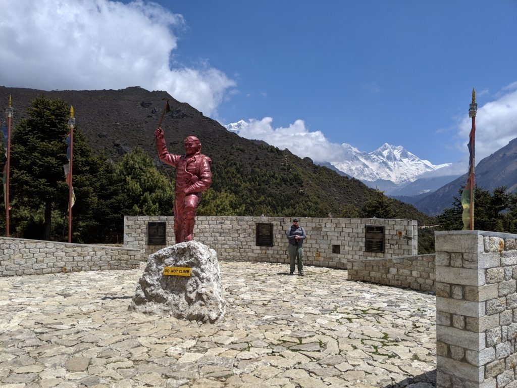 Statue to commemorate Tenzing Norgay Sherpa